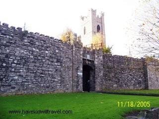 wall of Dublin, original wall of Dublin