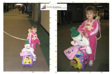 Navigating the Airport With a Toddler