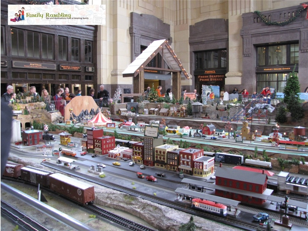 Model Trains at Union Station