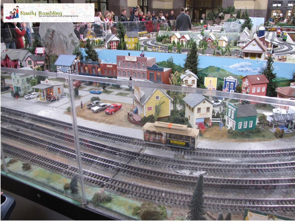 Holiday Village Train Display Union Station Kansas City