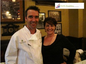 Me with Kevin Dundon
