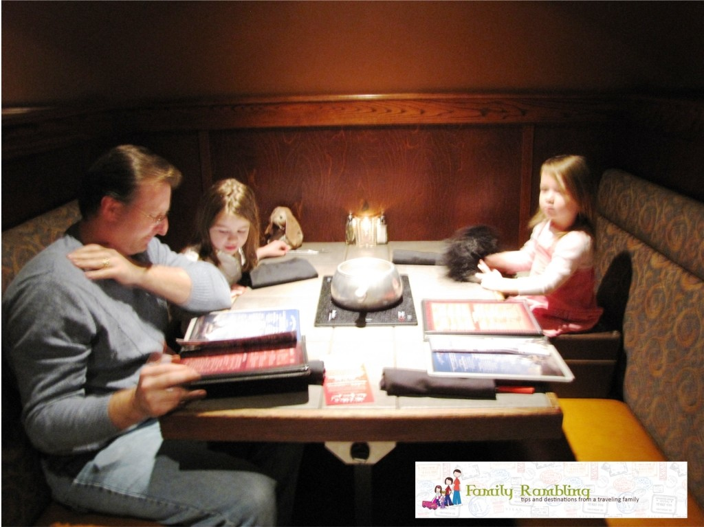 Dinner with Kids at The Melting Pot in Country Club Plaza, Kansas City, Missouri