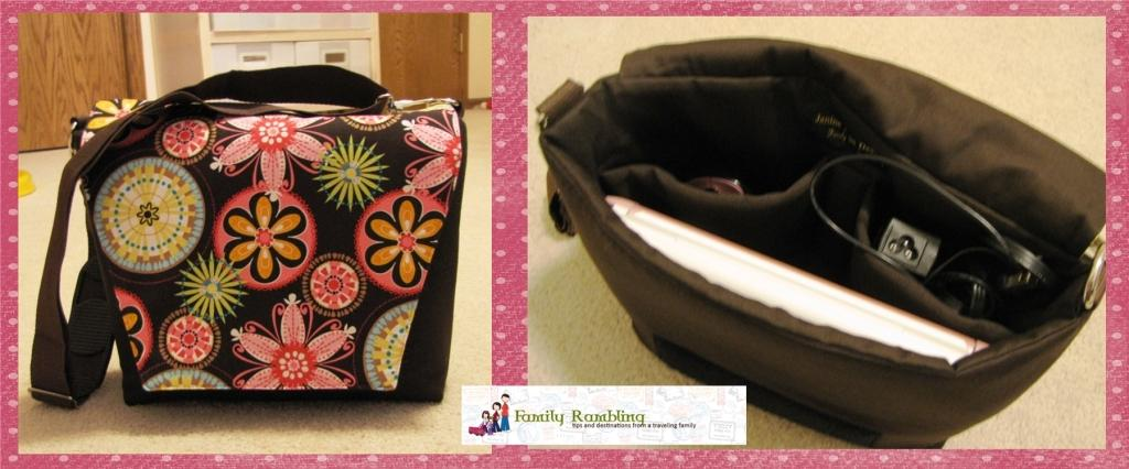 Janine King Netbook/Camera Tote