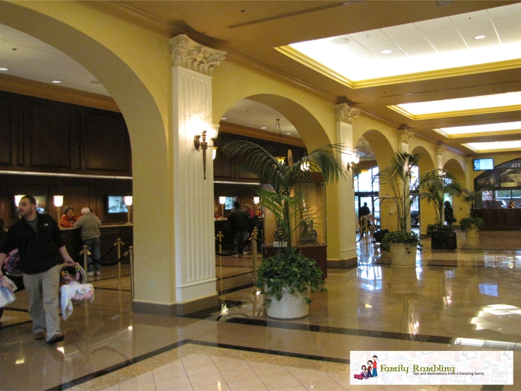 Lobby Check-in Gaylord Opryland Hotel