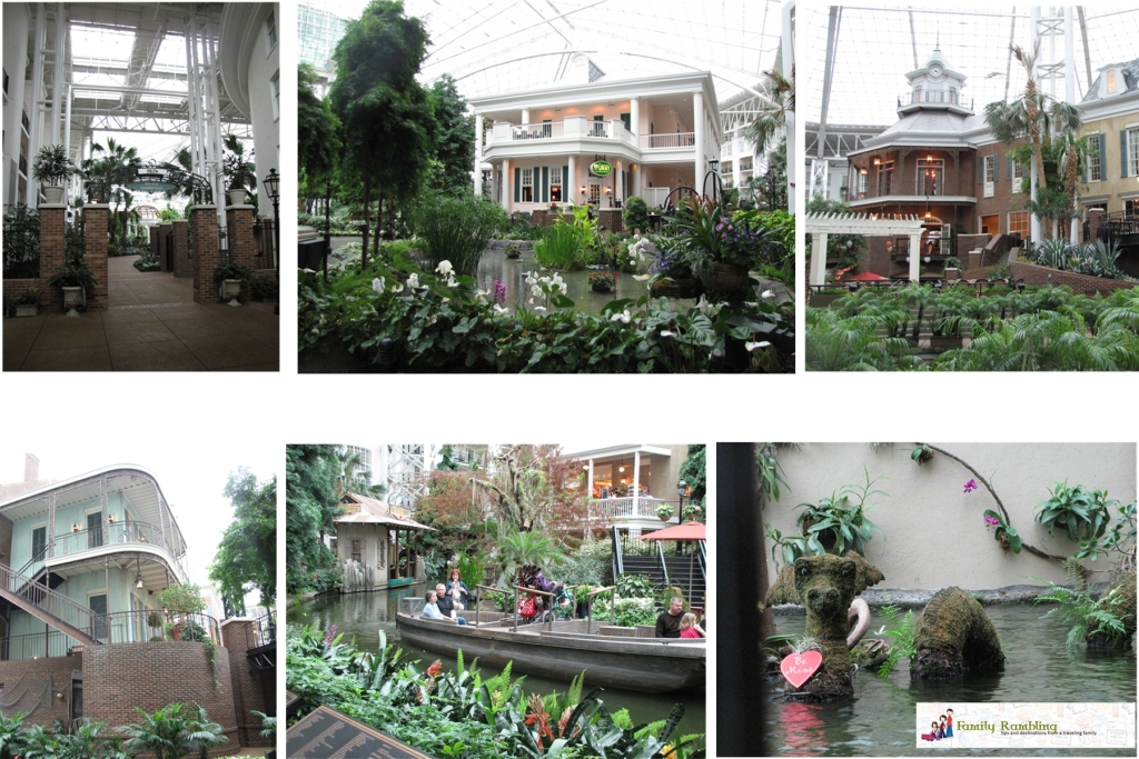 Views of the Delta Gaylord Opryland Hotel