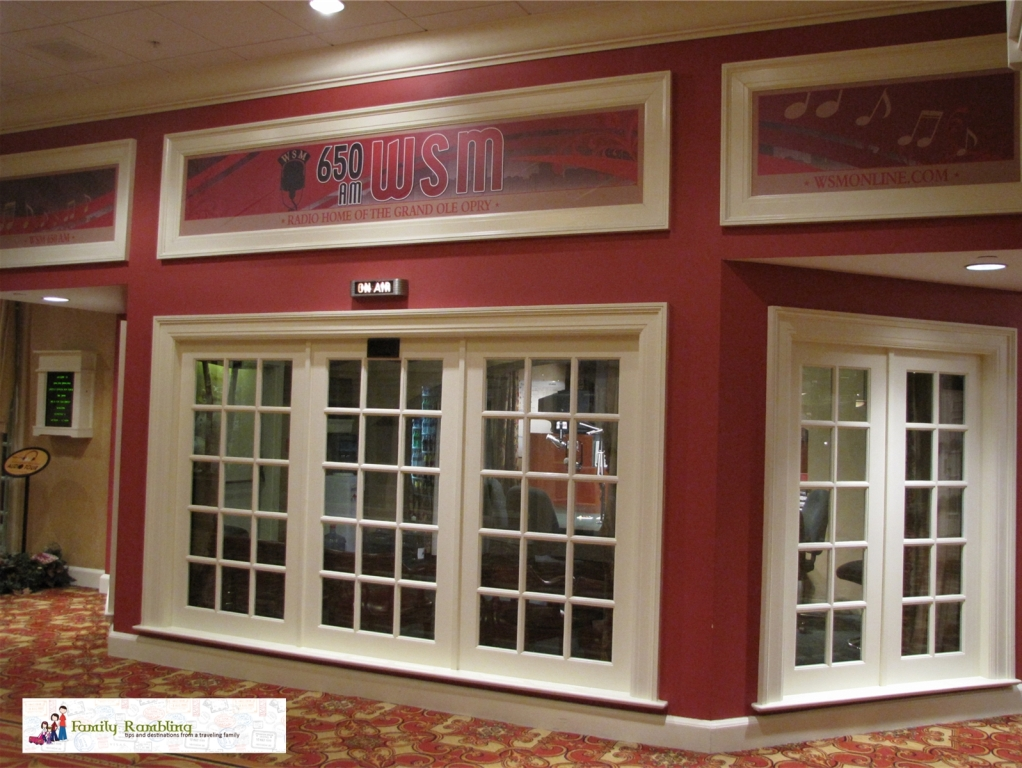 650 am WSM Nashville Gaylord Opryland Hotel
