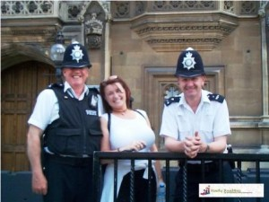 London Bobbies outside Parliament London