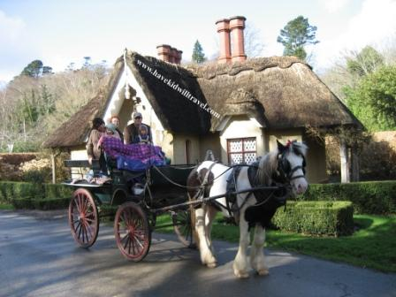 Jaunting Cart in Killarney, Ireland