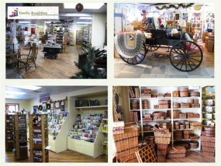 Inside the Amish and Iowa General Store and Visitor's Center