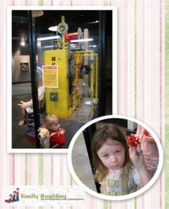 Bow Making Machine at Hallmark Visitors Center, Kansas City