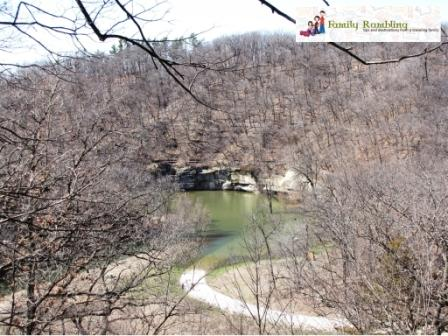 Spring Hiking at Ledges State Park