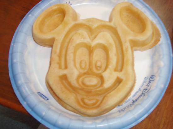 Mickey Waffle Walt Disney World