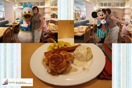 Character Breakfast at Cape May, Disney Yacht and Beach Club