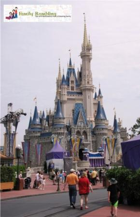 Cinderella's Castle, Magic Kingdom, Walt Disney World