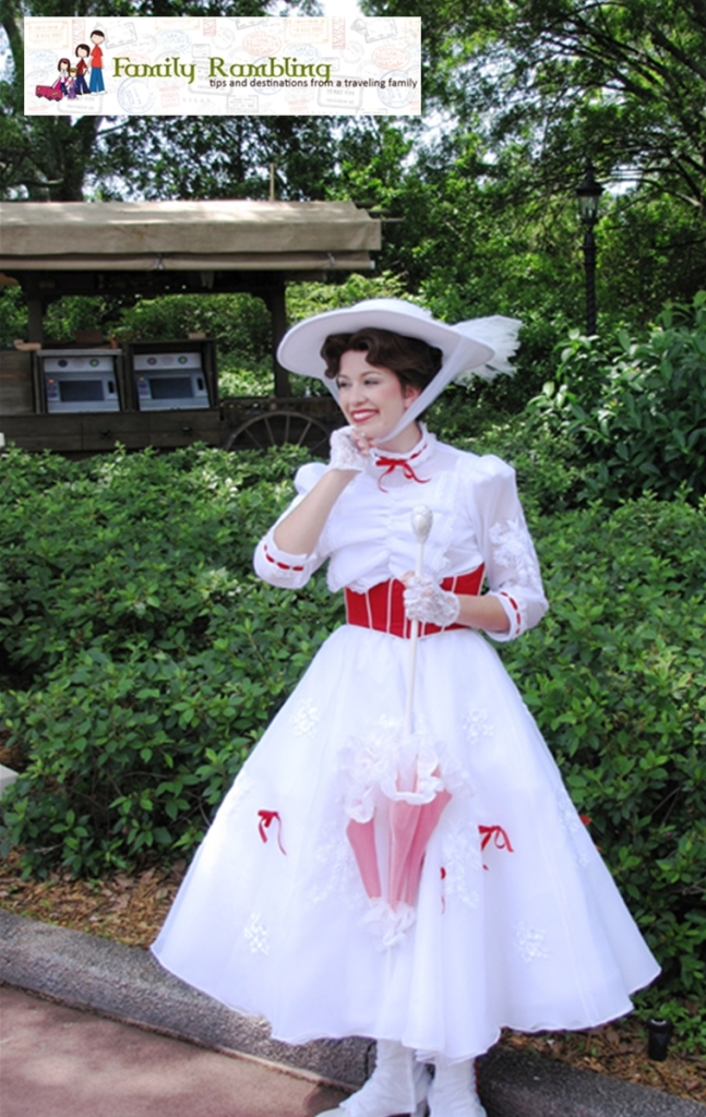 Mary Poppins in the United Kingdom, Epcot