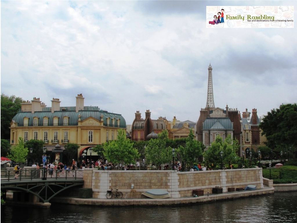 Viewing France at Epcot