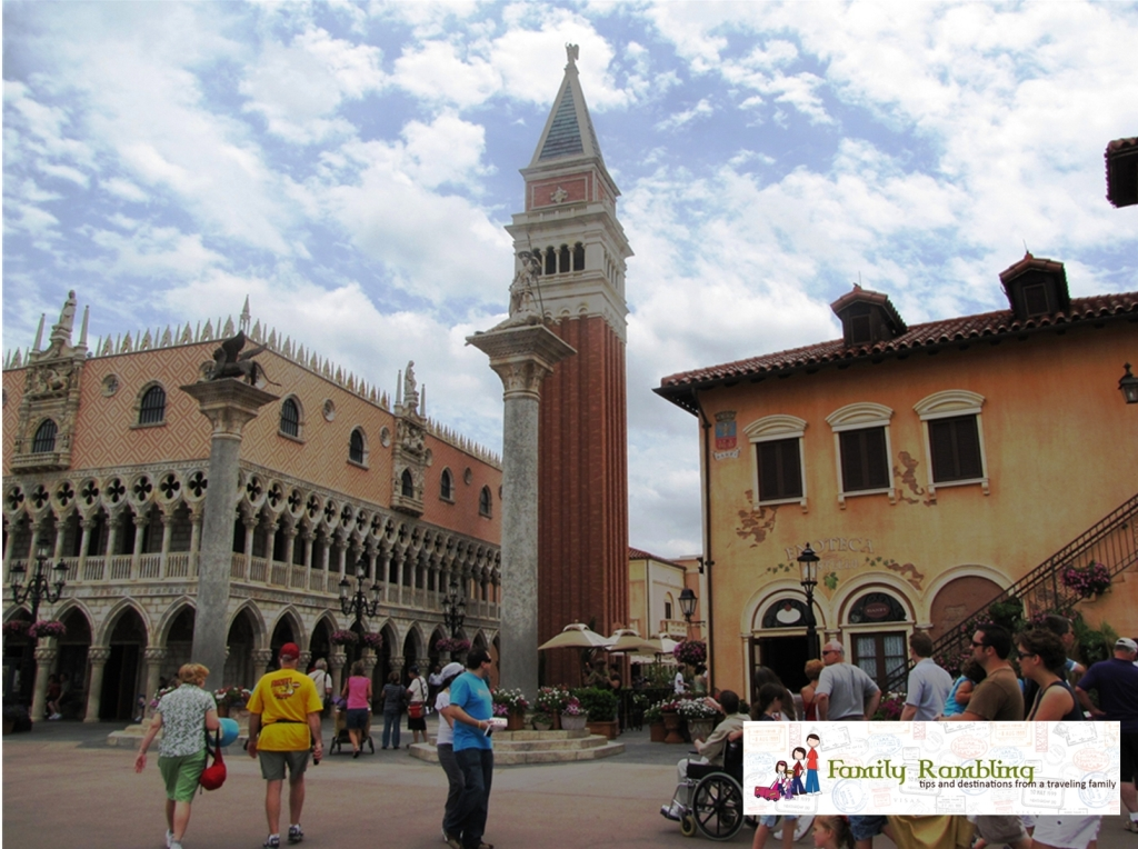 Shops and Restaurants in Italy, Epcot