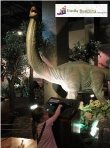 Animatronic dinosaur, DInosaurs Unearthed, Union Station