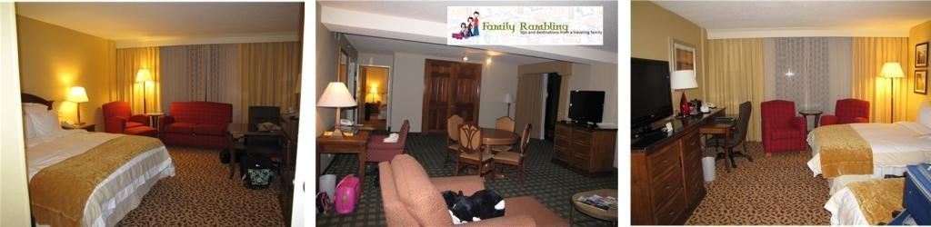 Room for the Family at Kansas City Downtown Marriott