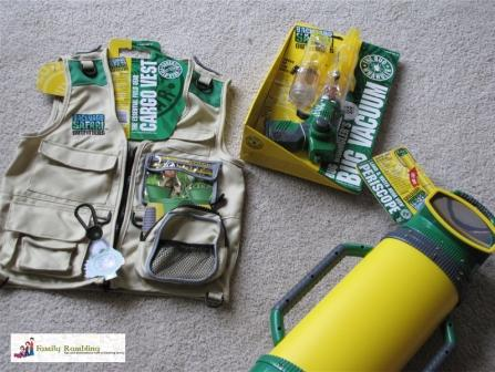 Backyard Safari Outfitters Gear