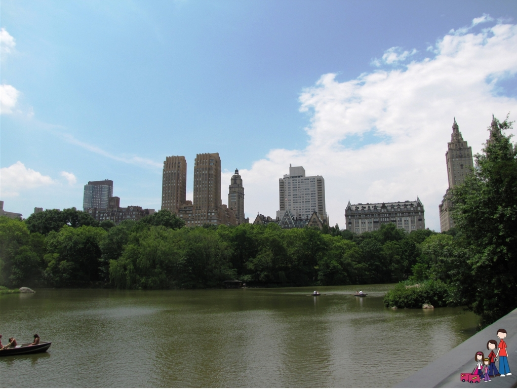 View of Manhattan from Central Park