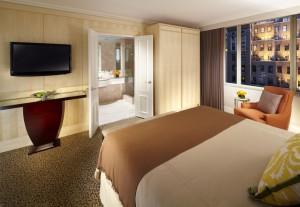 Madison bedroom; Omni Hotel
