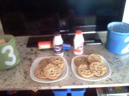 Omni hotel milk & cookies