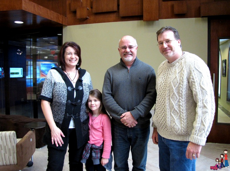 Visiting Dave Ramsey at Financial Peace Plaza in Brentwood, Tennessee