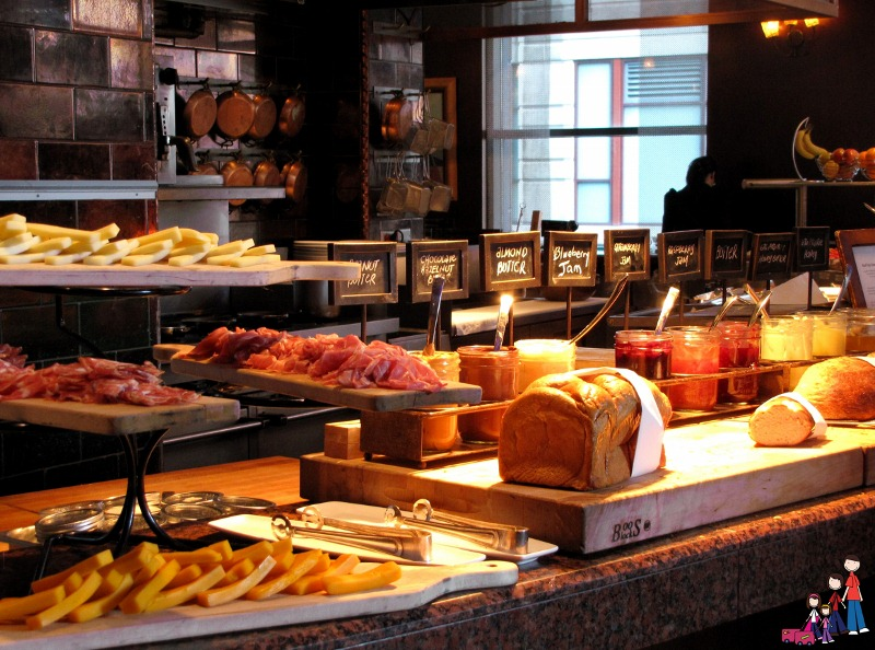 Breakfast Buffet at Omni Chicago Hotel
