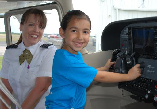 Introduce Girls to Limitless Possibilities at Aviation Inspiration Day