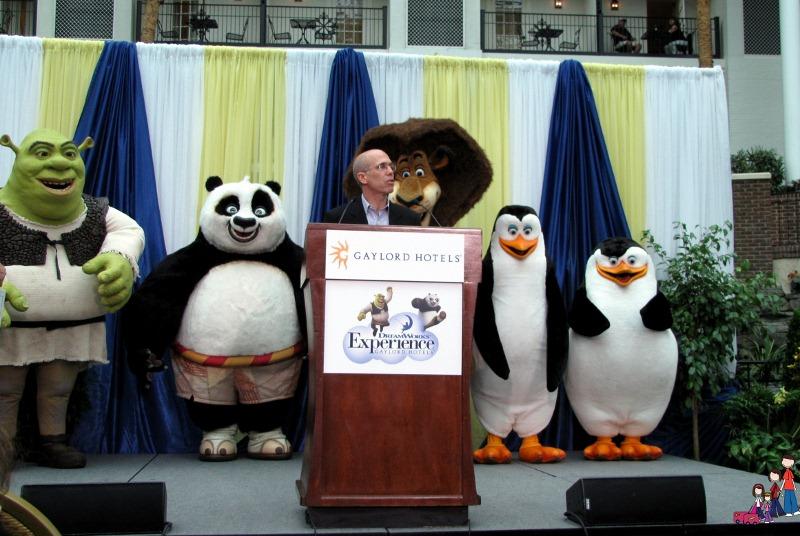 Jeffrey Katzenberg, CEO of DreamWorks, at Gaylord Opryland