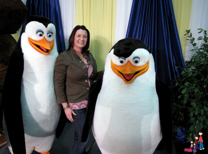With the Penguins of Madagascar at Gaylord Opryland