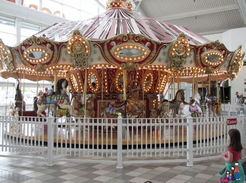 Old Fashioned Carousel at Coral Ridge Mall in Iowa City