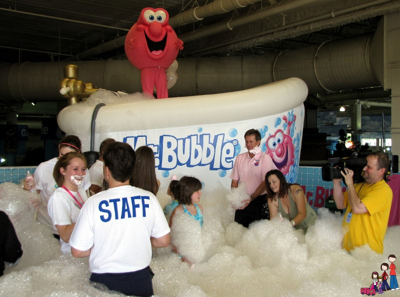 Mr Bubble World's Largest Bubble Bath