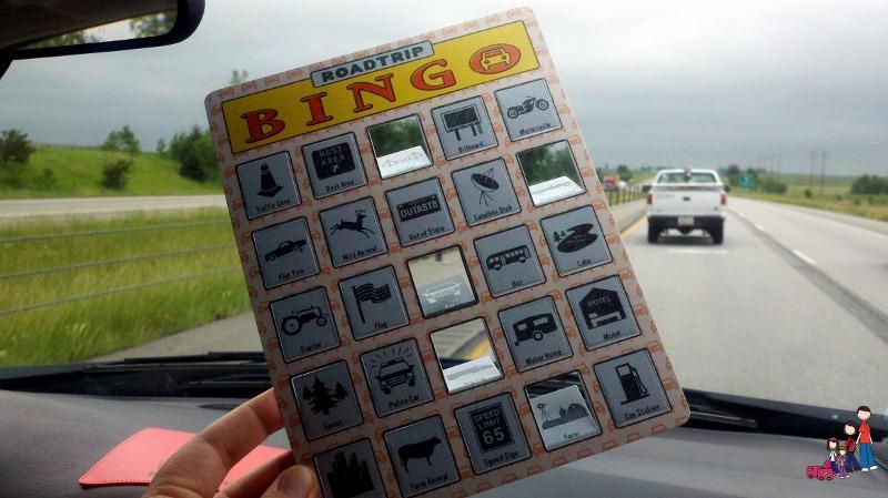 RoadTrip Bingo for Over the Road Family Fun