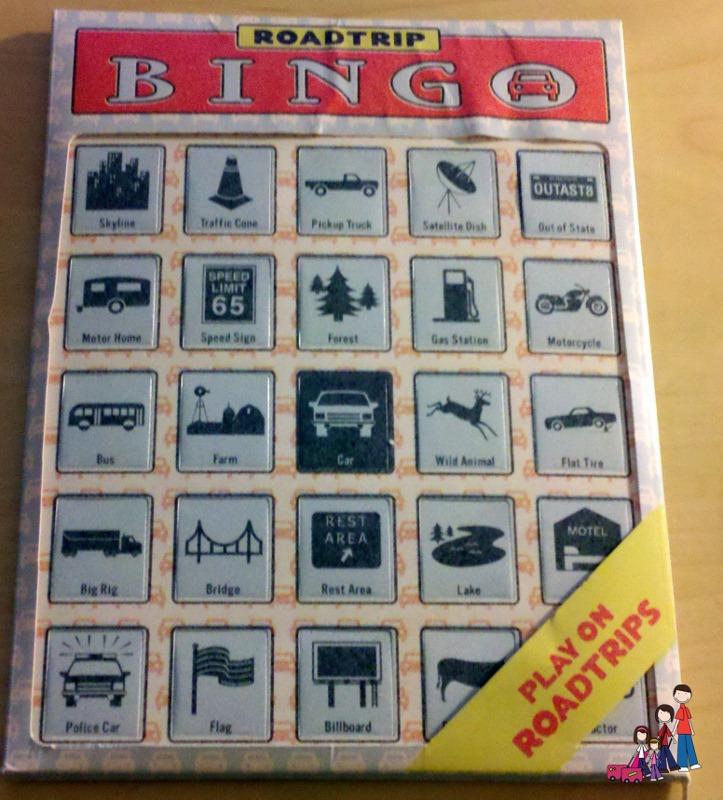 Road Trip Bingo by Knock Knock