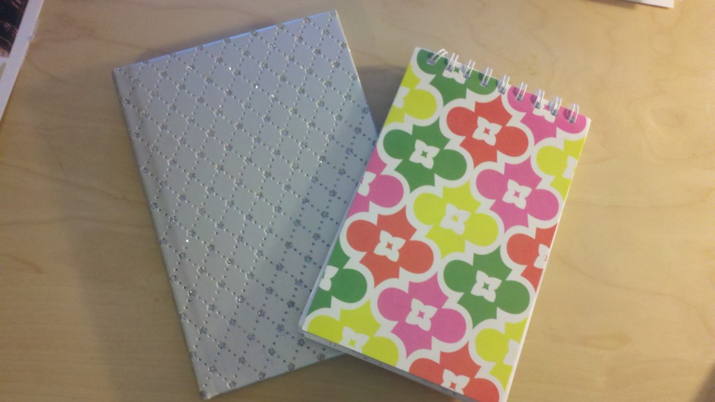 Notebooks Used for Travel Journals