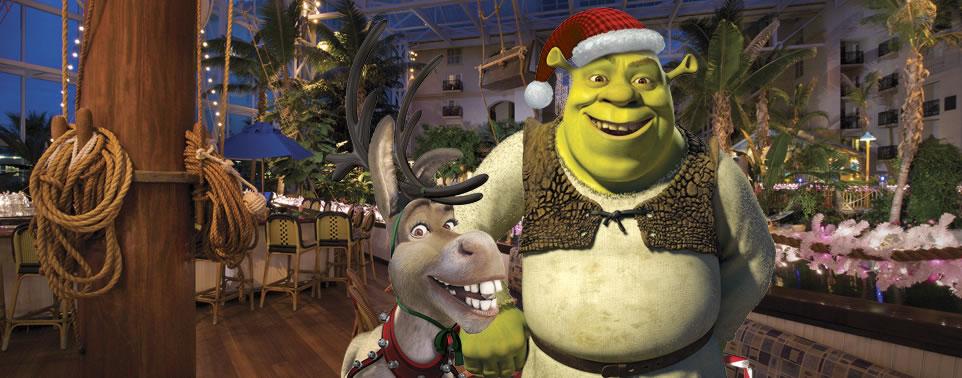 Shrek on ICE