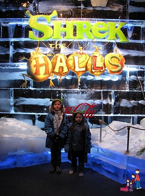 Sights from Gaylord Palms ICE featuring Shrek the Halls