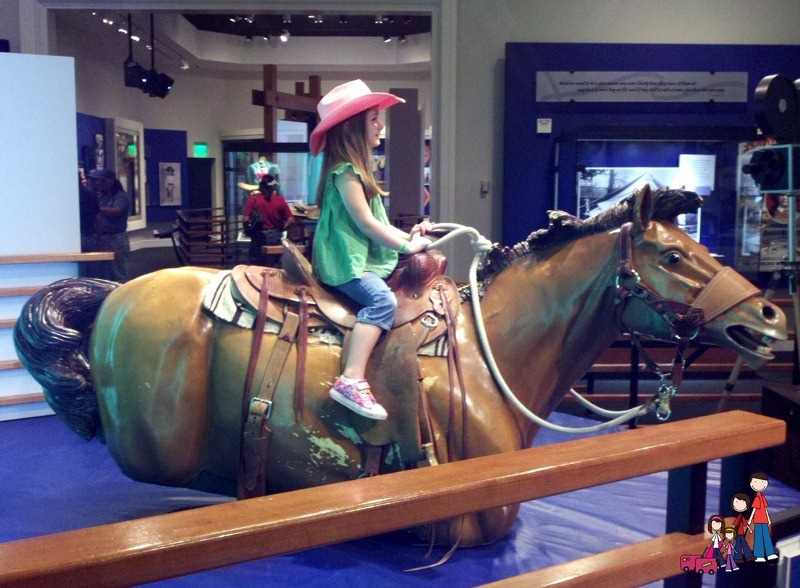 Bronc Riding at the National Cowgirl Museum, Fort Worth