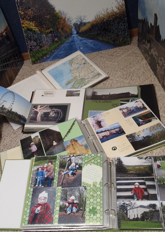 Vacation Memories Scrapbooks