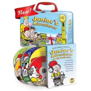 kids_audio_cds_with_lunchbox Dave Ramsey