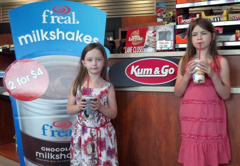 F'Real Shakes at Kum & Go