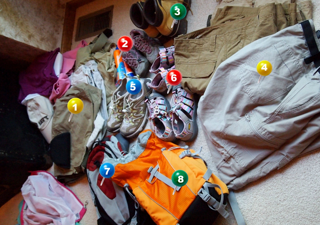 Packing for an Active Adventure Vacation