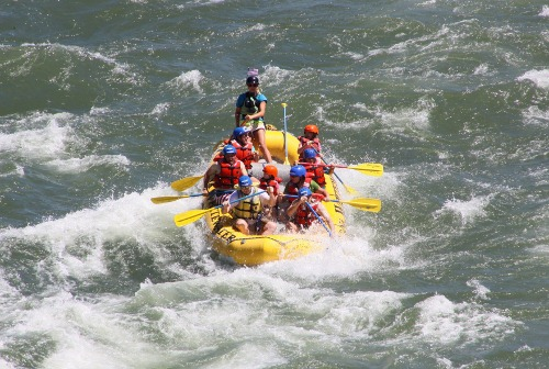 White Water Rafting on Yellowstone River