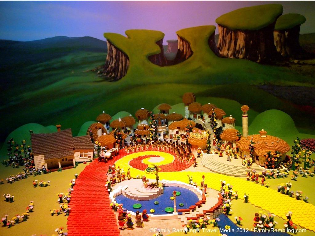 Oz and the Yellow Brick Road at LEGOLAND Discovery Center, Kansas City, Missouri