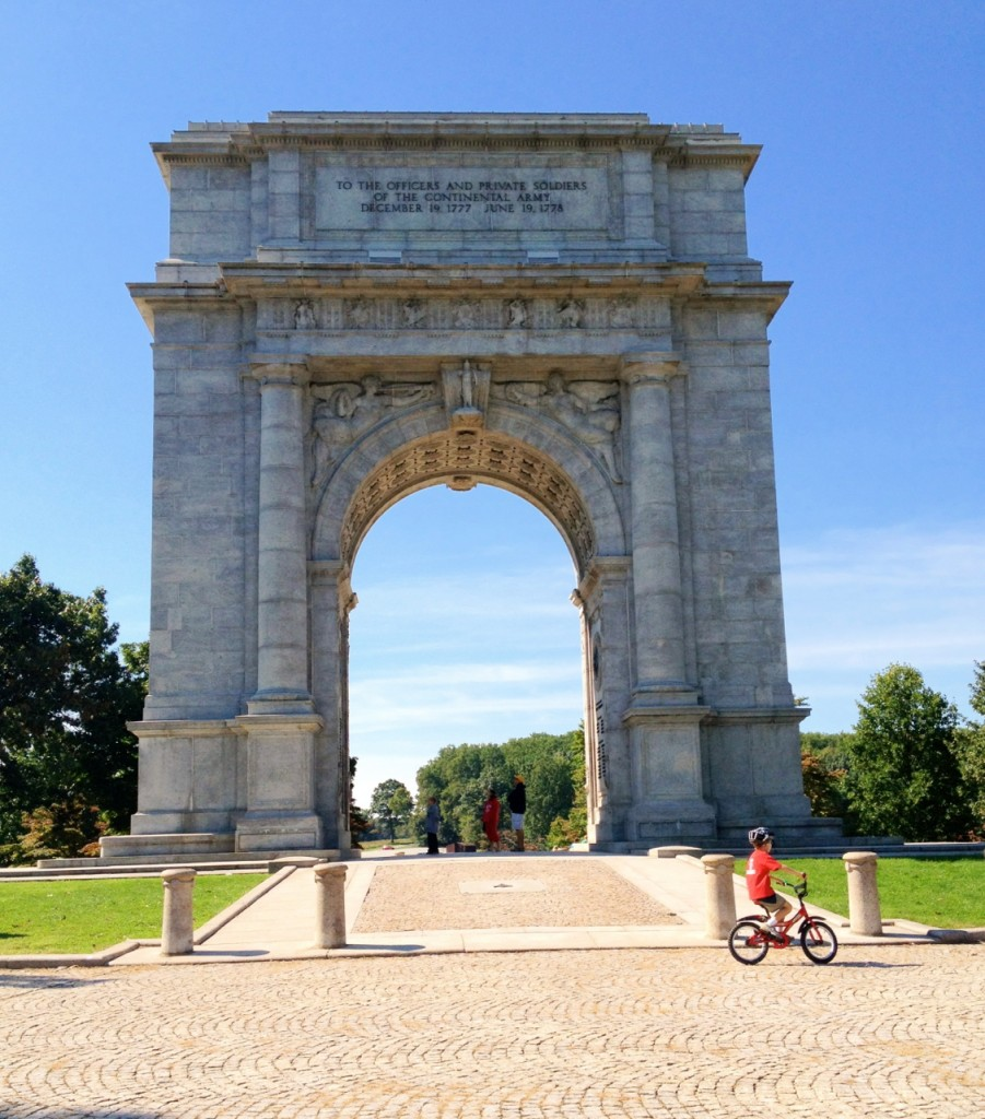 Washington Memorial Arch Valley Forge