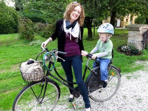 Biking with Toddlers in Italy