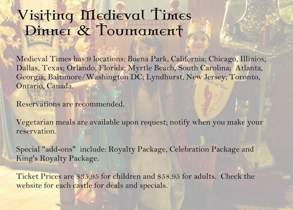 Tips for Visiting Medieval Times Dinner & Tournament