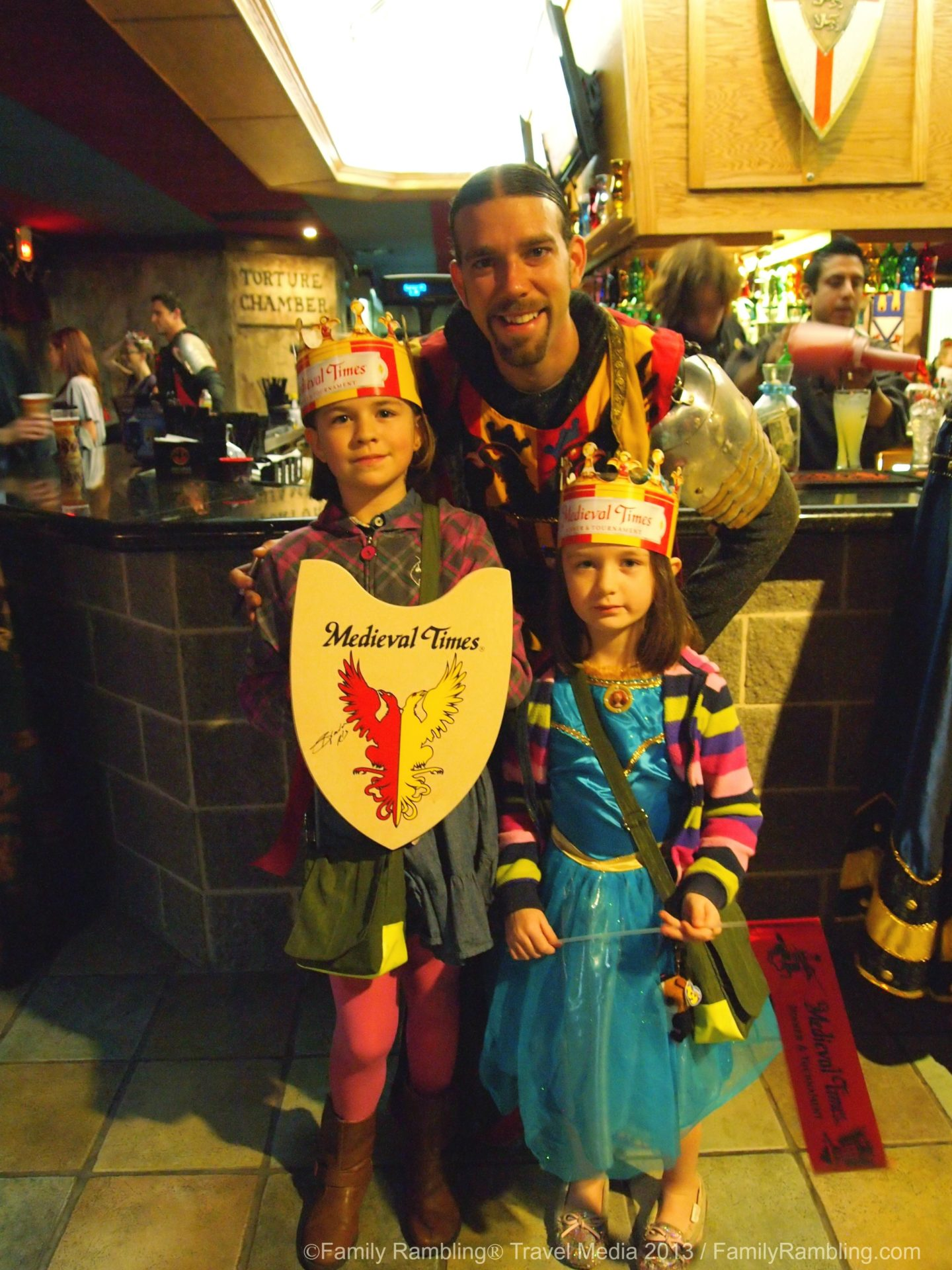 Taking the Kids to Medieval Times Dinner & Tournament